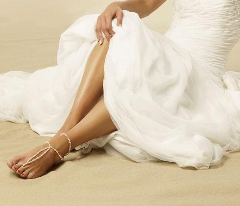 bridal barefoot- lovethebaglovetheshoes.co.uk
