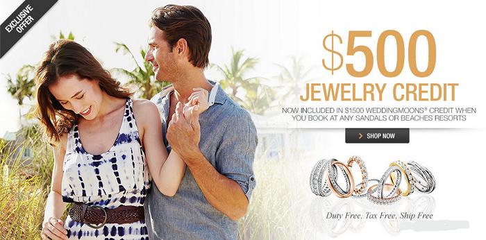 500 jewelry credit