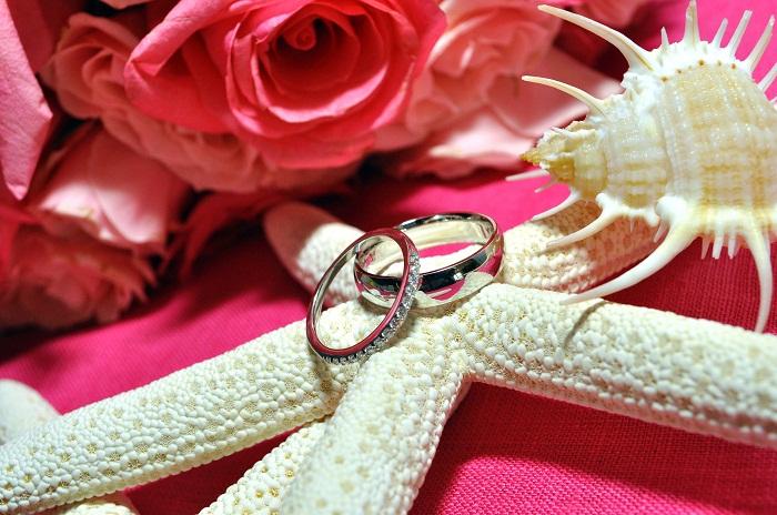 Wedding Rings Starfish