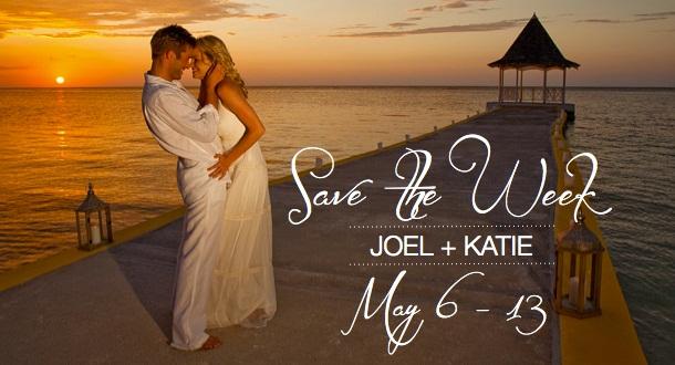 Sunny says destination wedding save the dates sandals wedding blog junglespirit Image collections