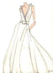 athletic Wedding Dress