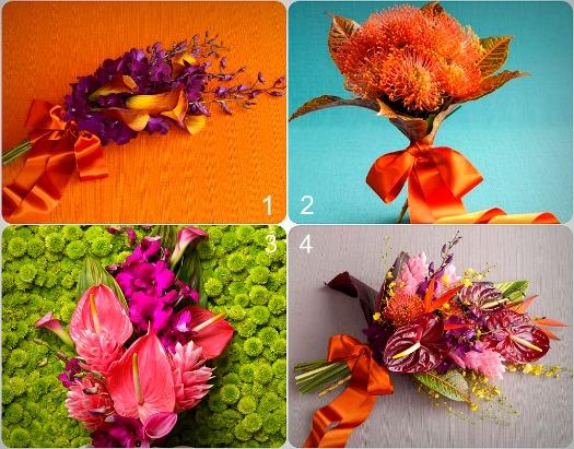 Summer Beach Bouquets