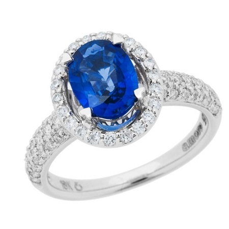 Celeb Styled Colored Engagement Rings From Amoro For