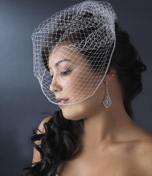 Birdcage Veil Pearls