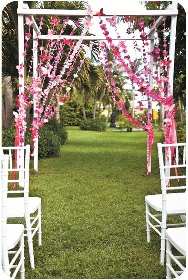 Diy Wedding Butterfly Ceremony Arch Sandals Wedding Blog