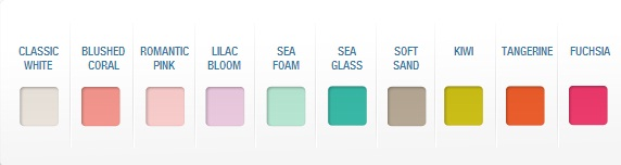 here are some ways you could put those lovely colors available to you to good use