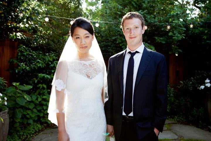 Backyard Wedding Charm Mark Zuckerberg And Priscilla Chan Update Their Status
