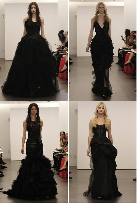 The Black Wedding Dress: Yay or Nay? - Sandals Wedding Blog