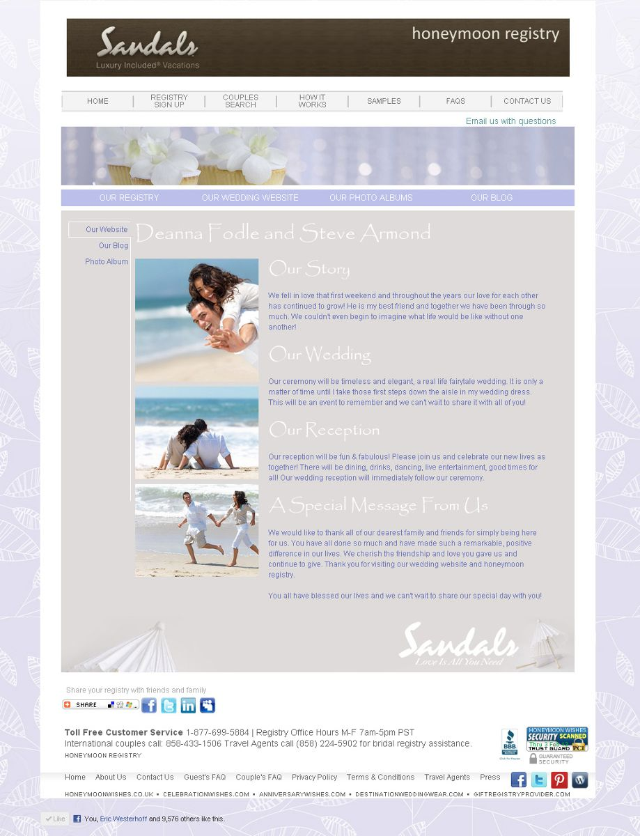 You Can View More Samples Of Weddingmoons Elegant And Tasteful Complimentary Wedding Websites Here