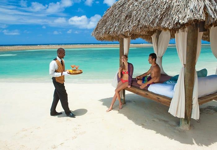 butler private beach cabana