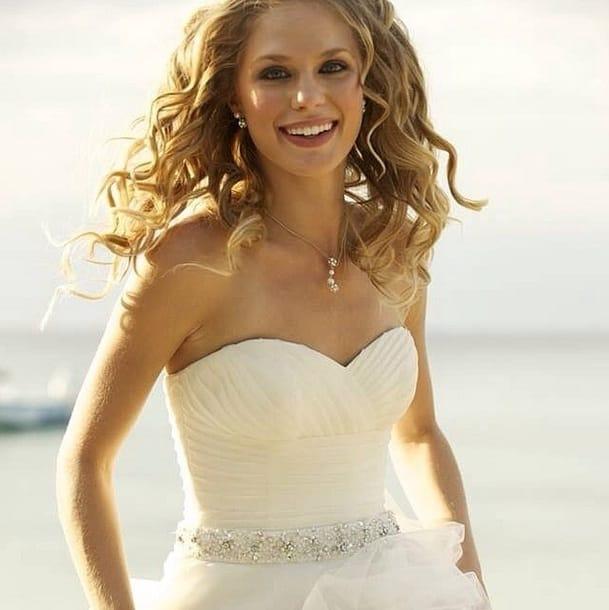 beach sun bride post