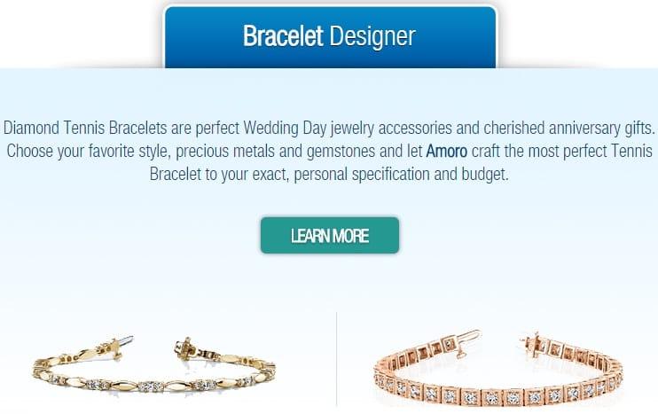 amoro charm bracelet designer