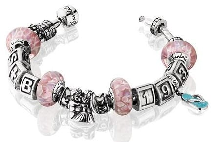 amoro charm bracelet