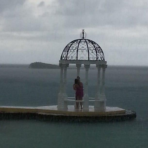 instagram proposal- raining after