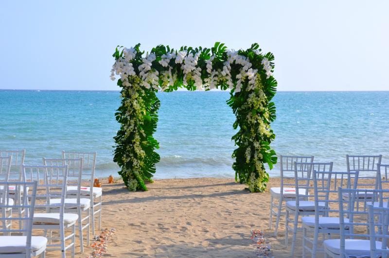 wedding arch resize