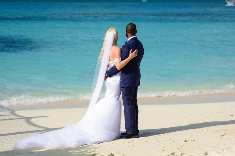 Beaches Real Wedding L & J