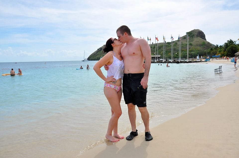 beach2 st lucia honeymoon review