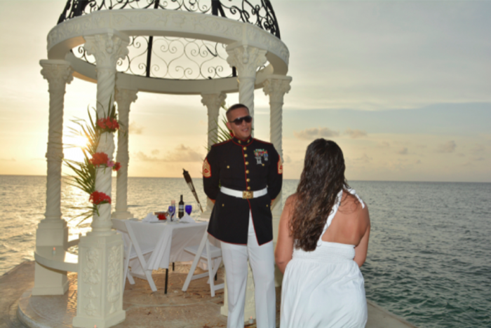 I said yes at sandals montego bay