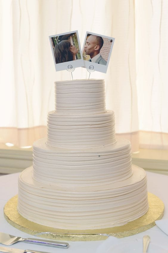 Creative Wedding Cake Toppers We Love Sandals Wedding Blog