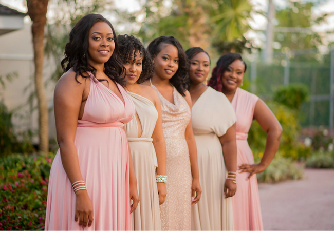 bridesmaids i do at sandals