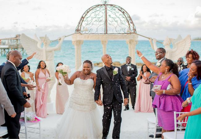 Sandals Real Wedding Sunny Dario Say I Do At Royal Bahamian