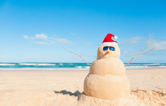 beach-christmas-snowman-174127