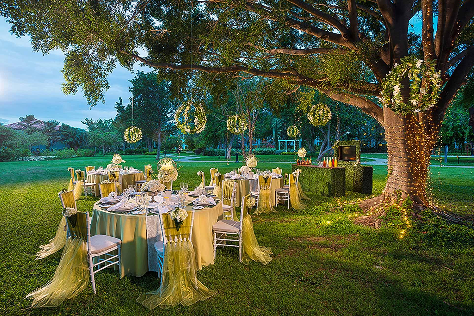 botanical garden dream wedding