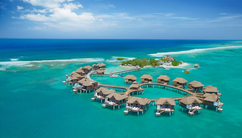Overwater All Inclusive Luxury Suites at Sandals Royal Caribbean in Jamaica