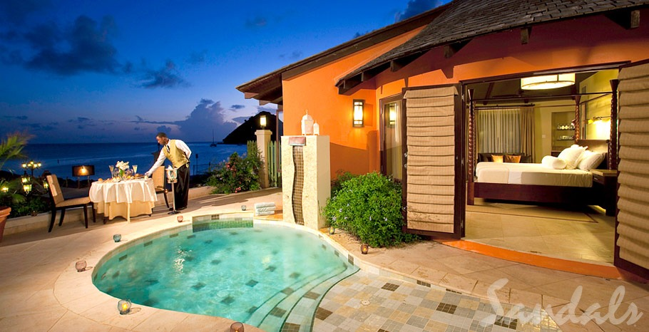 Sandals Resorts All Inclusive Luxury Honeymoon Villa With Private Pool