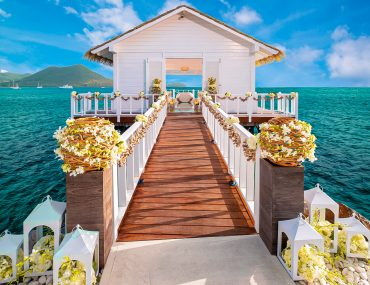 Over-the-Water Wedding Chapel